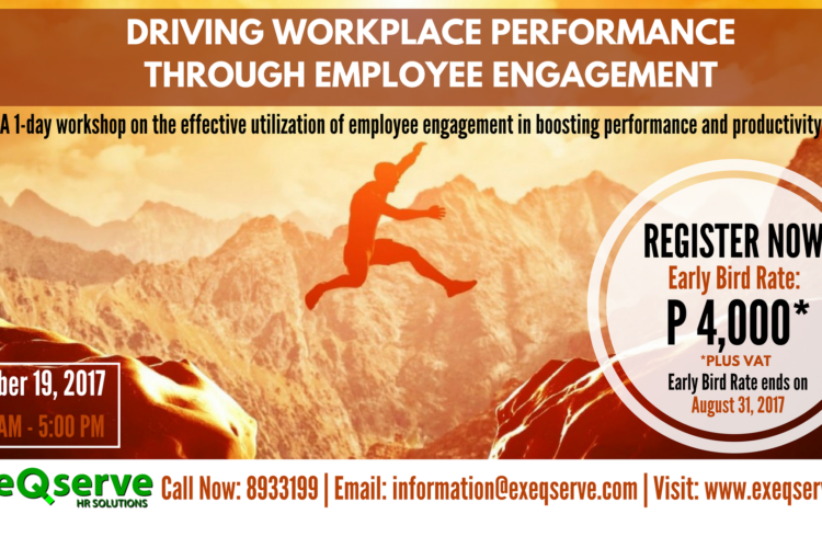 1-Day Learning Event on Employee Engagement