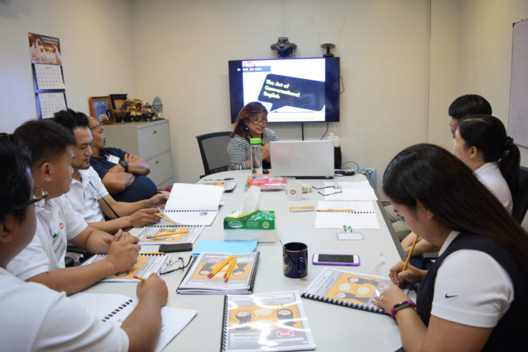 ExeQserve Facilitated Conversational English Training for Cobb Vantress