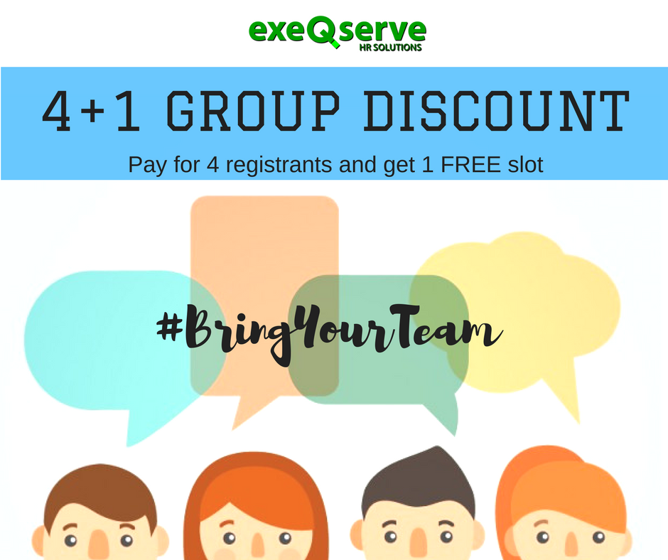 4+1 Group Discount
