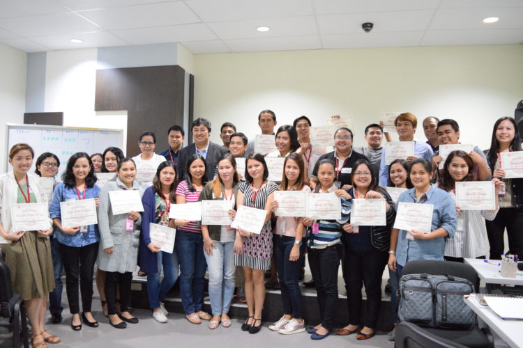ExeQserve's People Management Training for Robinsons Retail, Inc.